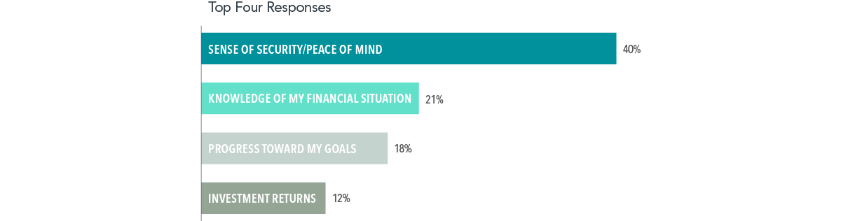How Do You Primarily Measure the Value Received from Your Advisor?